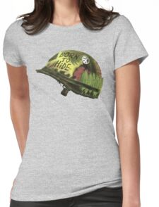 Born to Hide helmet Womens Fitted T-Shirt