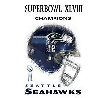 SUPERBOWL 48 CHAMPIONS Photographic Print