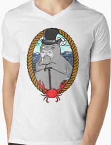 THE WALRUS  Mens V-Neck T-Shirt