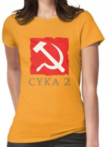 Cyka 2 Womens Fitted T-Shirt