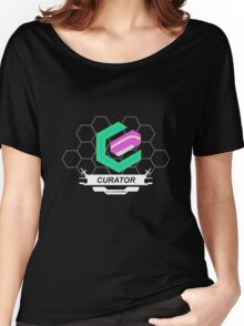 Xenoblade X Curator Logo Women's Relaxed Fit T-Shirt