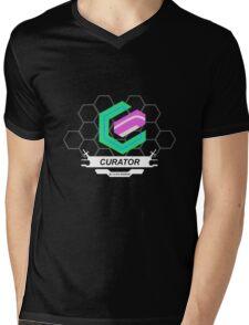 Xenoblade X Curator Logo Mens V-Neck T-Shirt