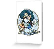 sailor mercury Greeting Card