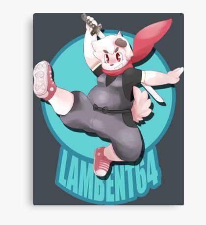 Lambent Cosplay Canvas Print
