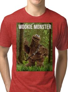 Wookie Monster Tri-blend T-Shirt