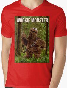 Wookie Monster Mens V-Neck T-Shirt