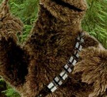 Wookie Monster Sticker