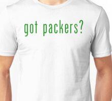 got packers? Green Bay Packers T-Shirt & Hoodie Unisex T-Shirt