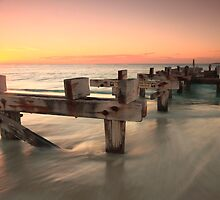 The Old Jetty at Jurien Bay by jamie mackie