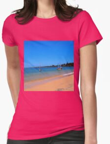 Yamba NSW Australia Womens Fitted T-Shirt
