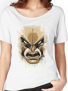 wolverine face Women's Relaxed Fit T-Shirt