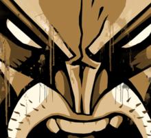 wolverine face Sticker