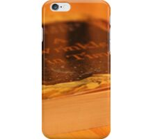 Wrinkly Reading iPhone Case/Skin