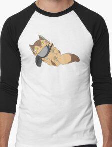Catbus Kitten Men's Baseball ¾ T-Shirt