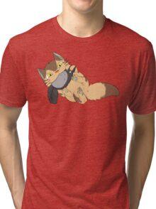 Catbus Kitten Tri-blend T-Shirt
