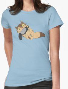 Catbus Kitten Womens Fitted T-Shirt