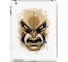 wolverine face iPad Case/Skin