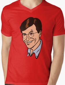 "Charles ""Chuck"" Noblet Mens V-Neck T-Shirt"