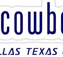 "Dallas Cowboys ""got cowboys?"" T-Shirt and Hoodie Sticker"