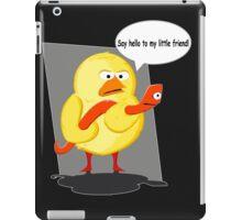 Scarface chiken  :) iPad Case/Skin