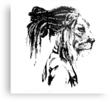 The Lion Man Metal Print
