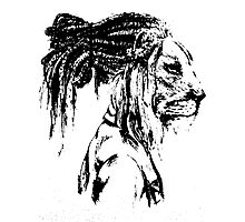 The Lion Man Photographic Print