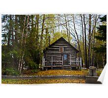 Alaskan Wlderness home Poster