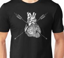 Valentine Heart With Arrows Unisex T-Shirt
