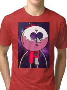 benson galaxy print Tri-blend T-Shirt