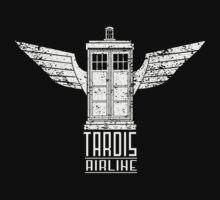 TARDIS AIRLINE by Fernando Sala