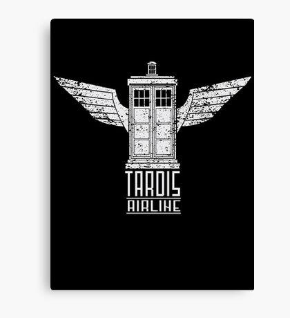 TARDIS AIRLINE Canvas Print