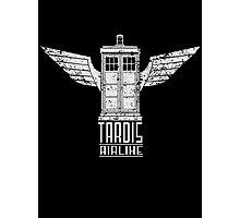 TARDIS AIRLINE Photographic Print