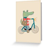 Croc Greeting Card