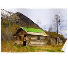 Old shack Poster