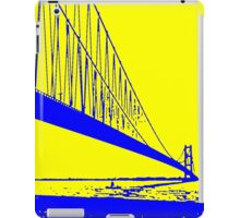 Landscape yellow blue iPad Case/Skin