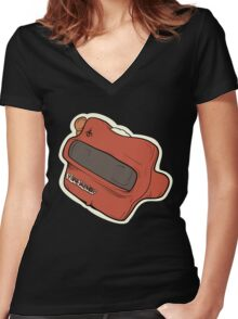 View Master Women's Fitted V-Neck T-Shirt