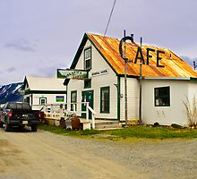 Old Cafe Hope Alaska by raymona pooler