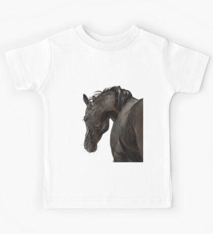 Horse portrait  Kids Tee