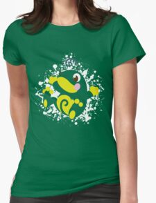 Politoed Splatter Womens Fitted T-Shirt