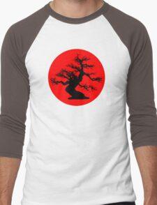 bonsai red sun  Men's Baseball ¾ T-Shirt