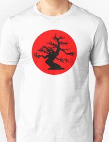 bonsai red sun  Unisex T-Shirt