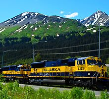 Alaska Locomotive by raymona pooler