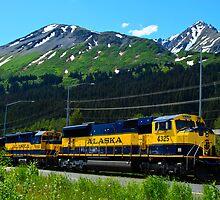 Alaska Locomotive by raymona pooler