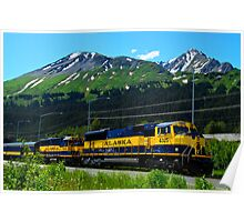 Alaska Locomotive Poster