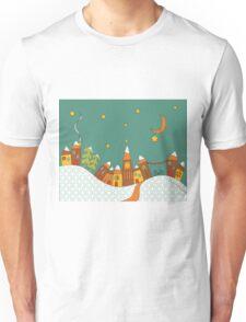 Winter Village Unisex T-Shirt