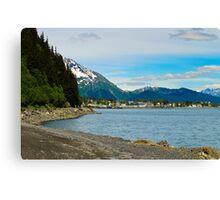 City of Seward Alaska Canvas Print