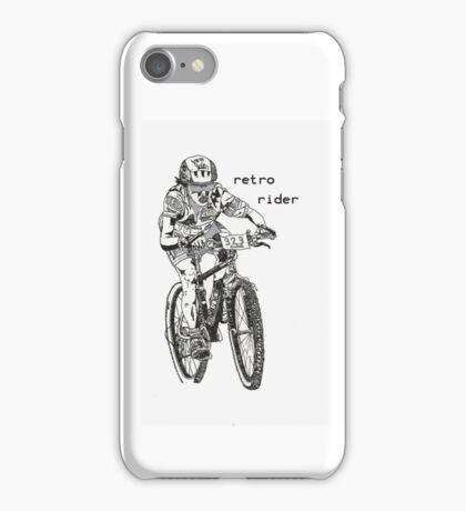 retro rider iPhone Case/Skin