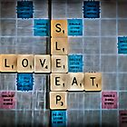 Eat Sleep Love by Paul Stevens