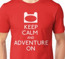 Keep Calm and Adventure On! Unisex T-Shirt