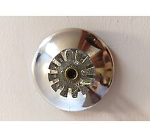 fire sprinkler, g Photographic Print